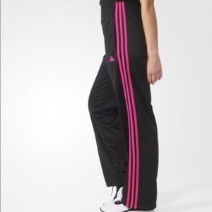 Adidas Black Tricot Track Pants Joggers